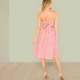 Erica Backless Summer Dress
