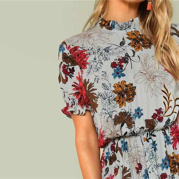Charlie Floral Summer Dress