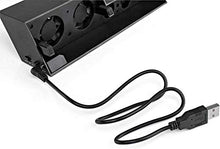Load image into Gallery viewer, USB Cooling Cooler 5-Fan for PS4 Console