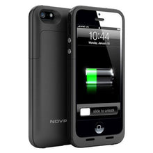 Load image into Gallery viewer, 2500mAh Battery Charger Case for iPhone 5 5S SE