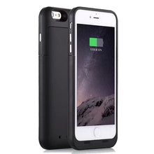 Load image into Gallery viewer, 6800mAh External Charger Cover for iPhone 6/6s Plus