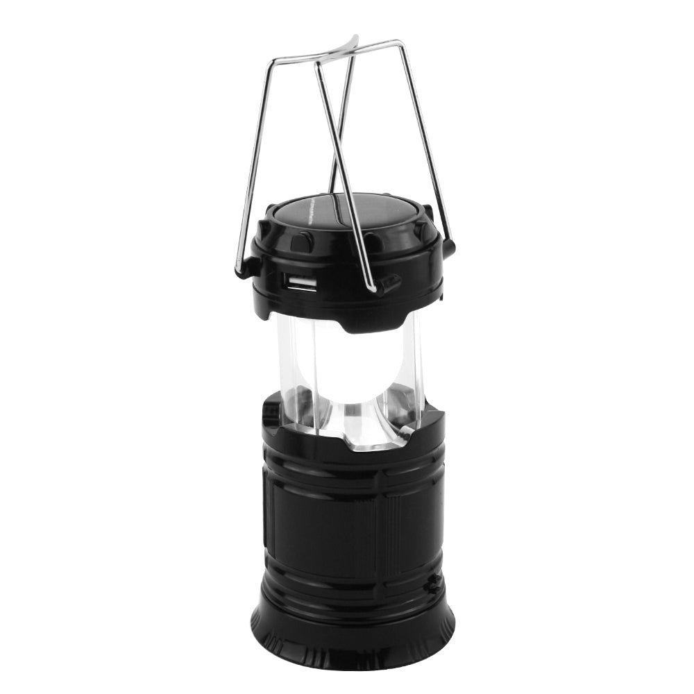 Solar 6 LED Portable Camping Lantern Light