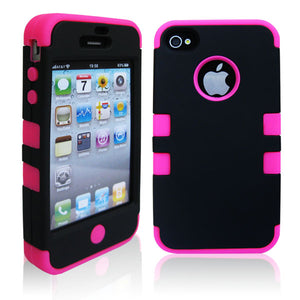 3in1 Hybrid Hard Case for iphone 4 4s