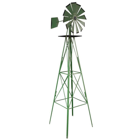 8ft Metal Windmill (Texas Farm)