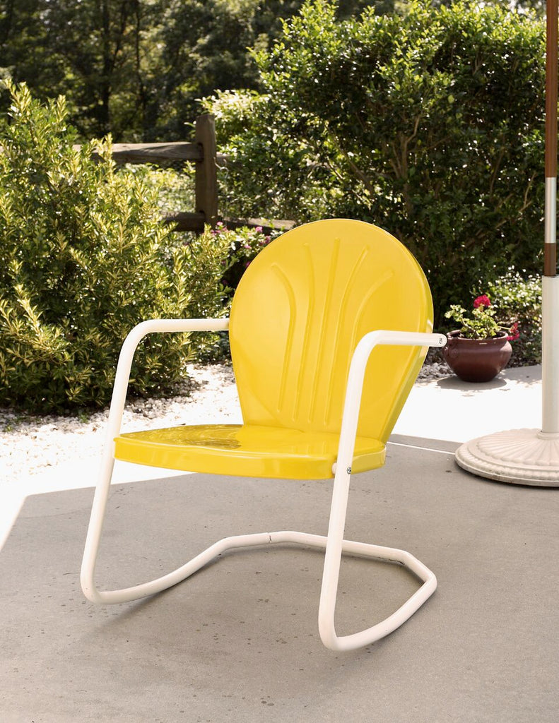 Porch Rockin' Chair (Metal)