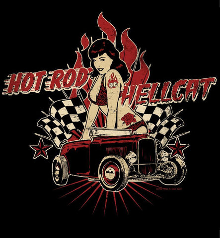 Womens Bettie Page Hot Rod Hellcat