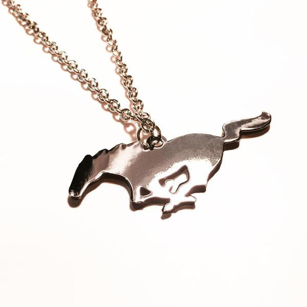 Fed mustang pony mustang necklace pony necklace ford necklace ford jewellery officially licensed