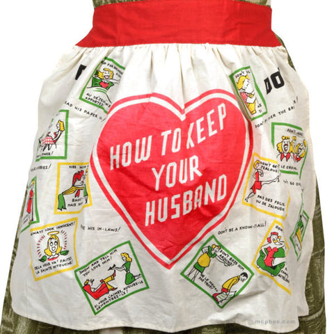 1950's Novelty Apron
