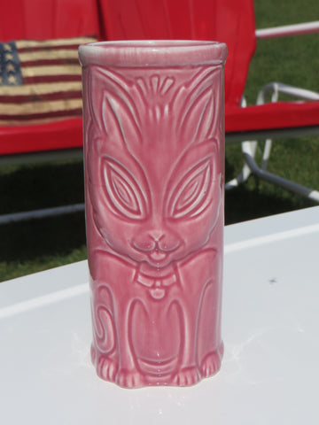 Ceramic Cat Tiki Mugs.