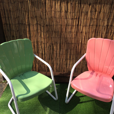 1956 Thunderbird Lawn Chair Green