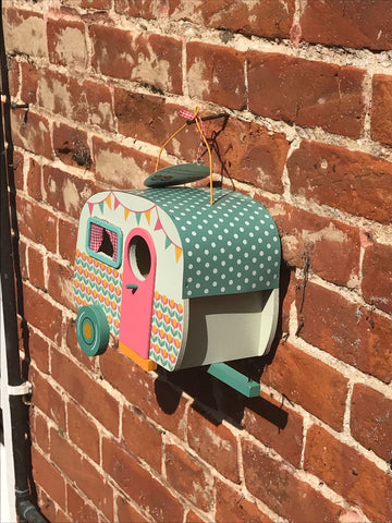 Retro Caravan (Trailer) Birdhouse