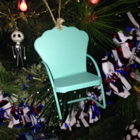 Micro Lawn Chair Ornaments