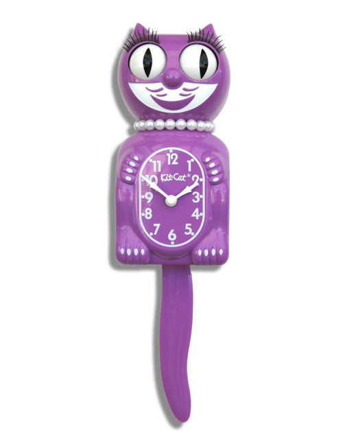 Kit-Cat Clock Lady Orchid