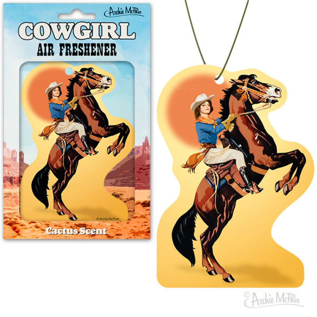 Cowgirl Air Freshener.