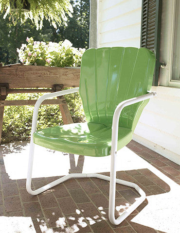 1956 Thunderbird Lawn Chair Seafoam Green