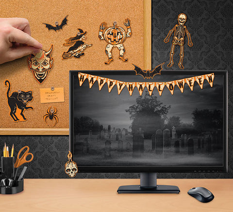 HALLOWE'EN MINI DECORATIONS