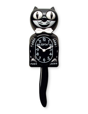Kit-Cat Clock (Full Size Gentleman) Black