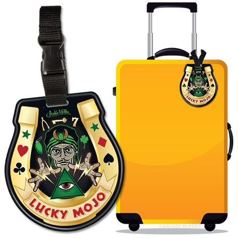 Lucky Mojo Luggage Tag.