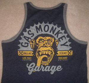Gas Monkey Garage Dallas Texas Vest Tank