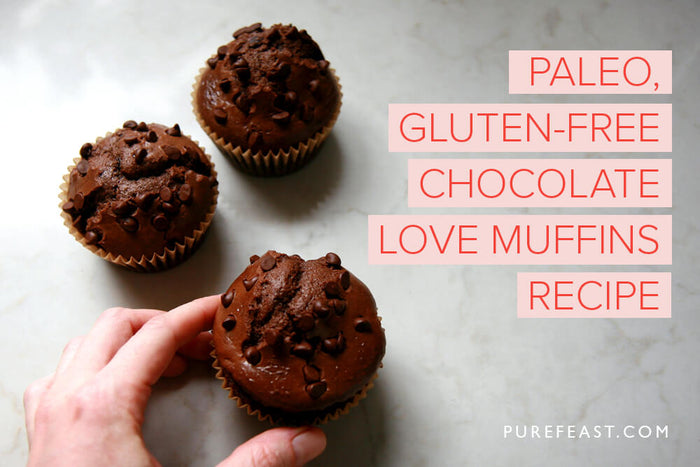 Paleo gluten-free chocolate muffins recipe