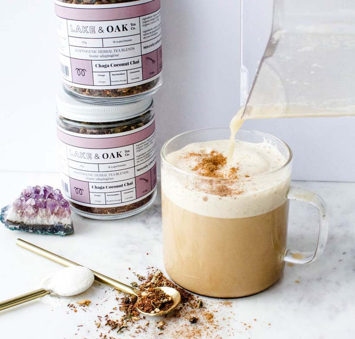 Chaga Chai Collagen Latte