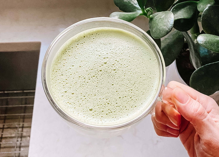 Dairy-Free Coconut Matcha Latte