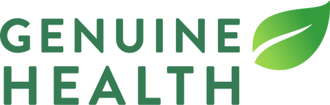 Genuine Health Logo. Buy Now Genuine Health Products Online Pure Feast.