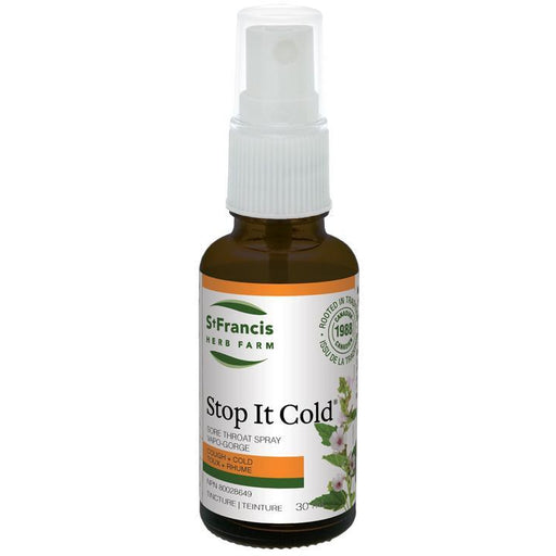 Buy St. Francis Herb Farm Stop It Cold Throat Spray at Pure Feast