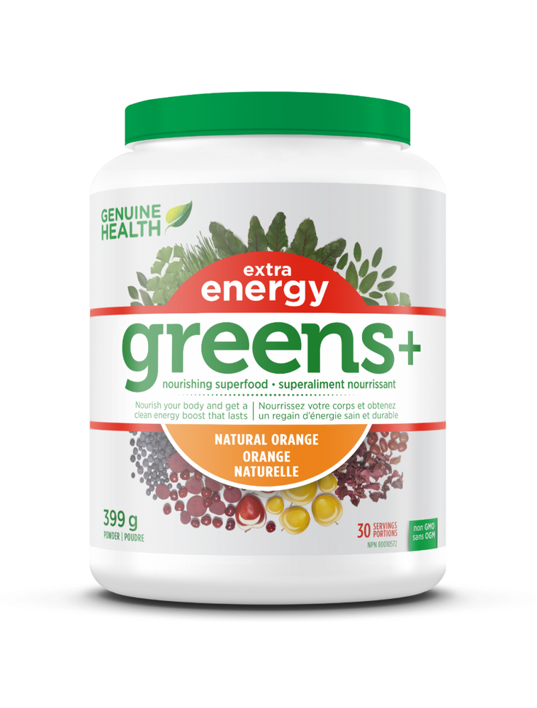 Buy Geniune Health Greens + Extra Energy at Pure Feast