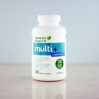 Genuine Health Multi+ Complete at Pure Feast