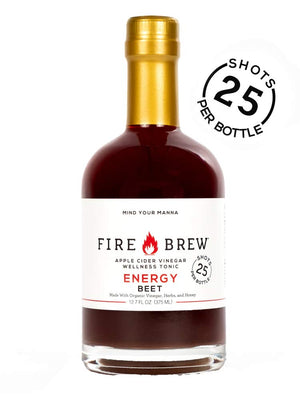 Buy Fire Brew Beet Energy Blend, 375 ml at Pure Feast
