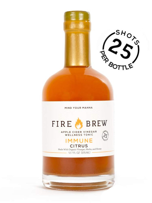 Buy Fire Brew Citrus Immunity Blend, 375 ml at Pure Feast