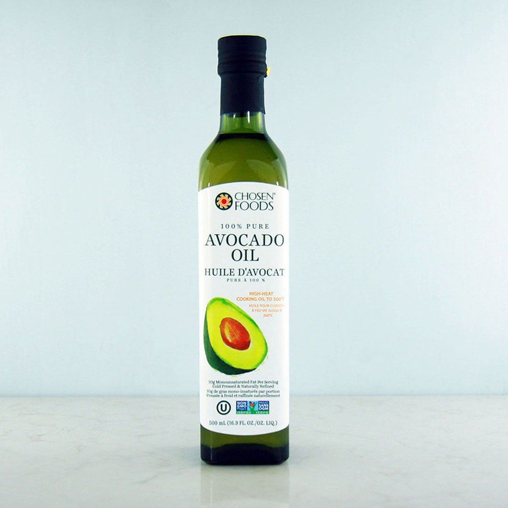 Buy Chosen Foods 100% Pure Avocado Oil, 500mL at Pure Feast