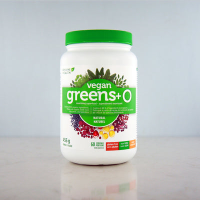 Buy Genuine Health Vegan Greens+ O at Pure Feast