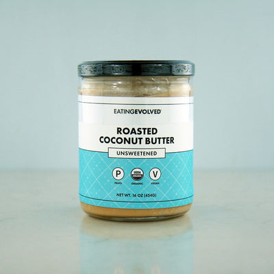 Eating Evolved Roasted Coconut Butter - Unsweetened