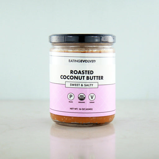 Buy Eating Evolved Roasted Coconut Butter - Sweet & Salty at Pure Feast