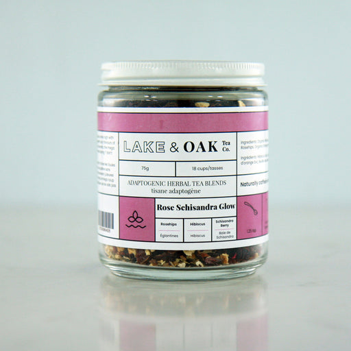 Buy Lake & Oak Rose Schisandra Glow Tea at Pure Feast