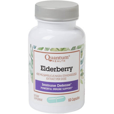 Buy Quantum Elderberry Herbal Capsules at Pure Feast