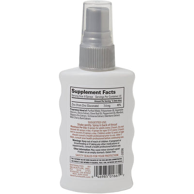 Buy Quantum Thera Zinc Throat Spray, 2 oz. at Pure Feast