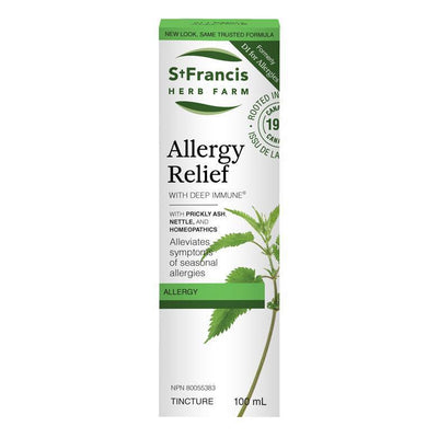 Buy St. Francis Herb Farm Allergy Relief with Deep Immune at Pure Feast