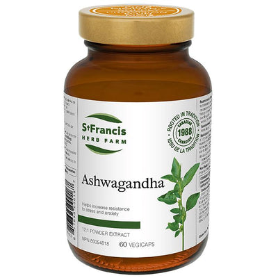 Buy St. Francis Herb Farm Ashwagandha Capsules at Pure Feast