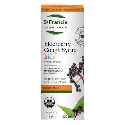 Buy St Francis Herb Farm Elderberry Cough Syrup for Kids at Pure Feast