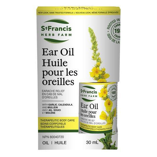 Buy St. Francis Herb Farm Ear Oil at Pure Feast