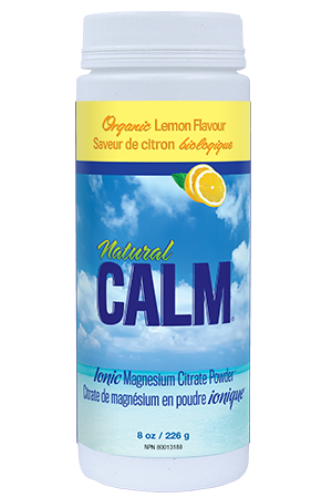 Natural Calm Magnesium Citrate Powder - Lemon