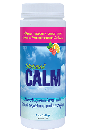 Natural Calm Magnesium Citrate Powder - Raspberry Lemon