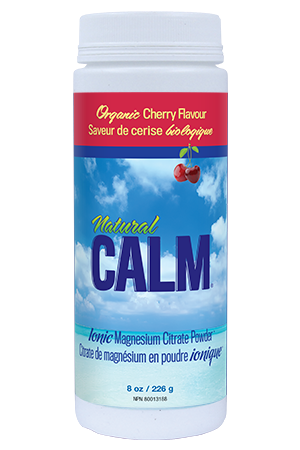 Natural Calm Magnesium Citrate Powder - Cherry