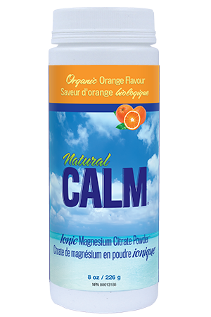 Natural Calm Magnesium Citrate Powder - Orange