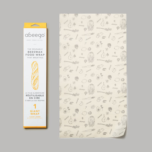 Buy Abeego All Natural Beeswax Reusable Food Wraps – Giant, single from Pure Feast