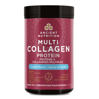 Ancient Nutrition Multi Collagen Protein Vanilla at Pure Feast