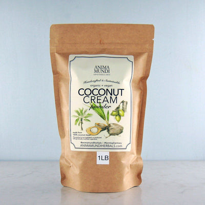 Anima Mundi Coconut Cream Powder, 100% Organic